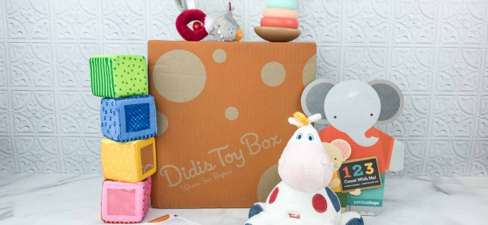 Didis Toy Box August 2018 Subscription Box Review & Coupon