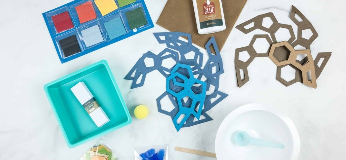 Doodle Crate Subscription Box Review & Coupon – HANDCRAFTED PAPER BOWLS