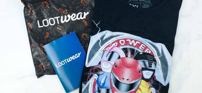 Loot Tees July 2018 Review & Coupon