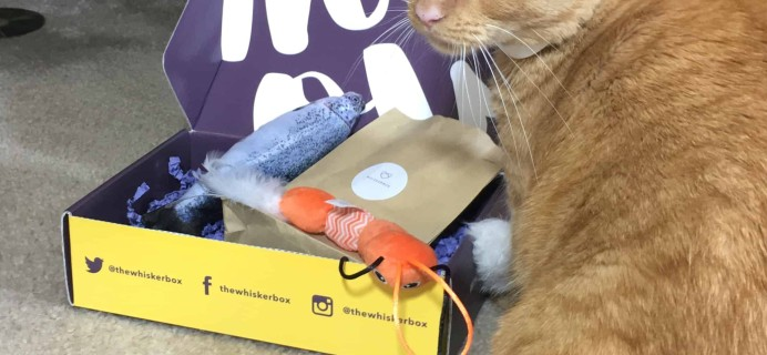 Whiskerbox July 2018 Subscription Box Review + Coupon