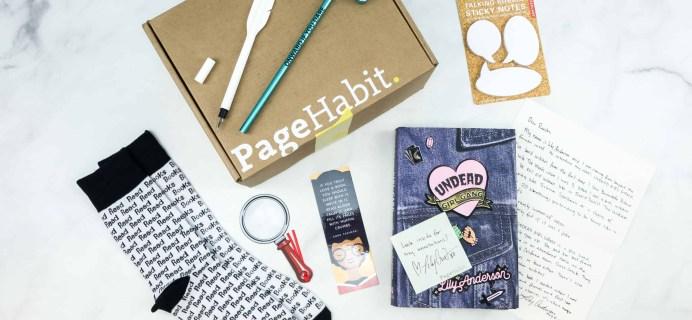 PageHabit July 2018 Subscription Box Review + Coupon – Fantasy