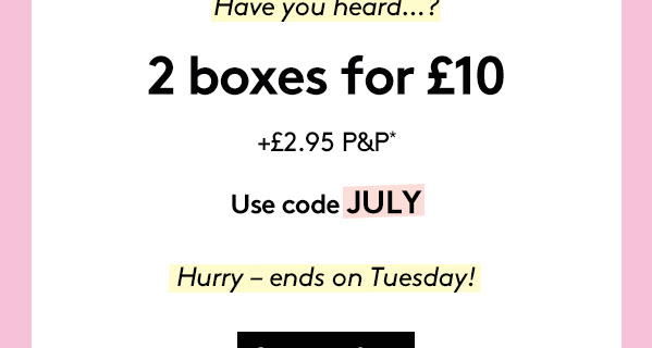 Birchbox UK July Sale : Get 2 Boxes For Only £10!