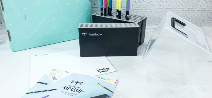 Tombow VIP Club July 2018 Box Review