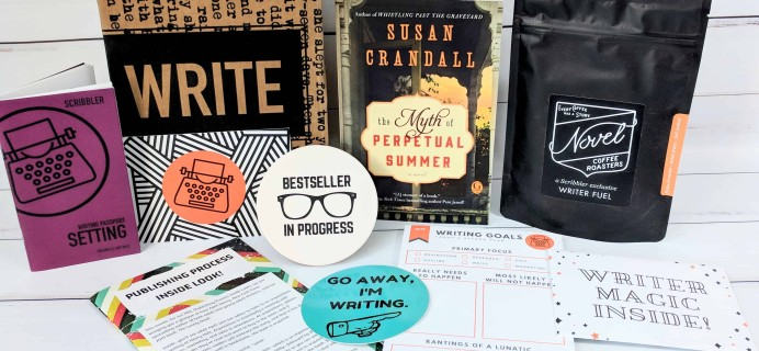 Scribbler Subscription Box Review – July 2018
