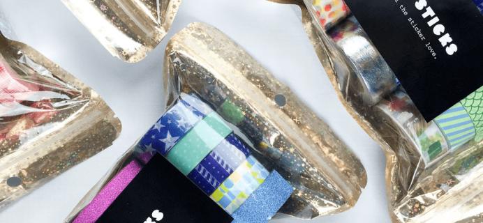 PipsticksMega Washi Mystery Bag Vol. 2 Available Now + Coupon!