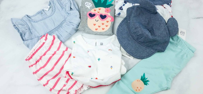 babyGap OutfitBox Summer 2018 Subscription Box Review