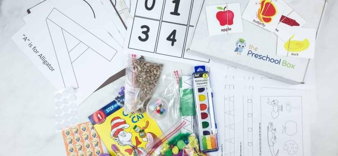 The Preschool Box Subscription Box Review – Box 1