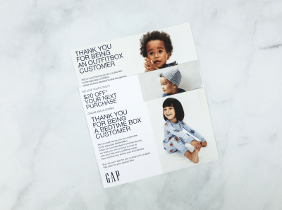 BabyGap Outfit Box & Bedtime Box Subscriptions Shutting Down