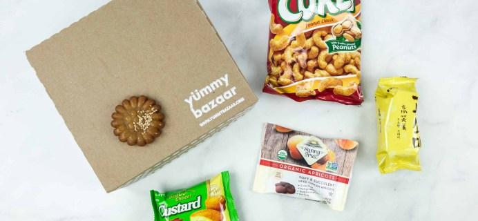 July 2018 Yummy Bazaar Subscription Box Review – Mini Box