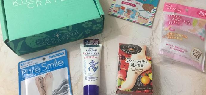 Kira Kira Crate August 2018 Subscription Box Review + Coupon