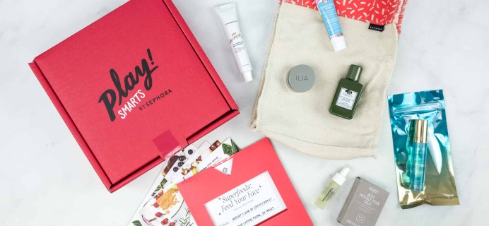 PLAY! by Sephora PLAY! SMARTS #2 – Superfoods Limited Edition Box