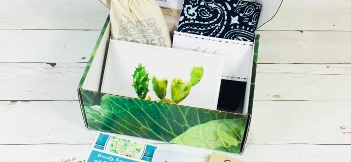 Plowbox Fall 2018 Gardening Subscription Box Review + Coupon