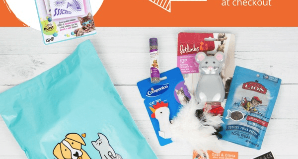 FREE Supercat Catnip Crumples With Your First Pet Treater Cat Pack!