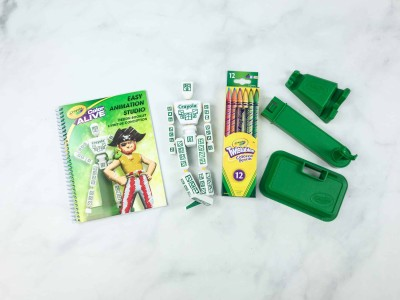 Target Art & Craft Kit August 2018 Review