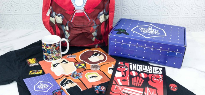 Geek Gear Box July 2018 Subscription Box Review + Coupon