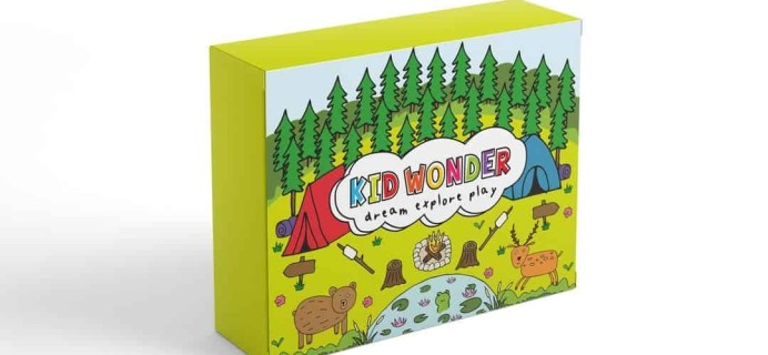 Kid Wonder Little Dreamers Box September 2018 Theme Spoilers + Coupon!