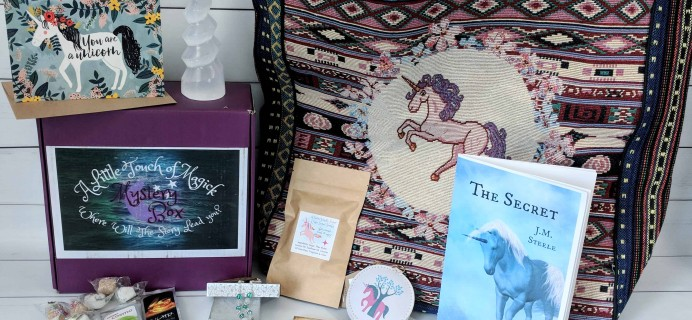 A Little Touch of Magick Mystery Box Subscription Review + Coupon – July 2018