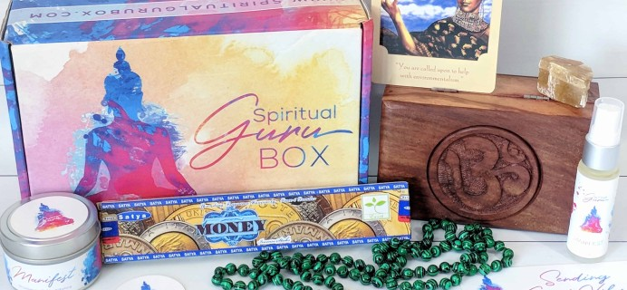 Spiritual Guru Subscription Box Review – July 2018