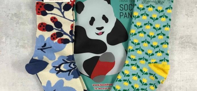 Sock Panda July 2018 Subscription Review + Coupon – Women's