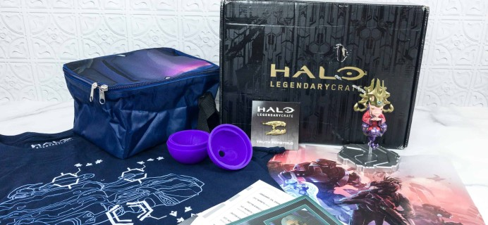 Halo Legendary Crate June 2018 Subscription Box Review + Coupon
