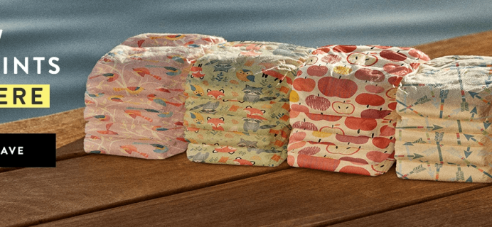 Honest Company Diapers Fall 2018 Prints + New Improved Diapers! + $20 Off First Bundle Coupon!