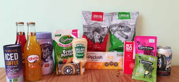 DegustaBox UK August 2018 Subscription Box Review + Coupon!