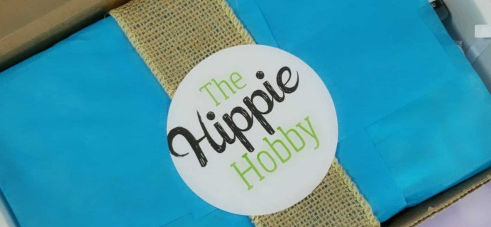 The Hippie Hobby Subscription Box Review & Coupon – July-August 2018