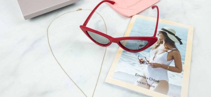 Emma & Chloe Subscription Box Review + Coupon – July 2018