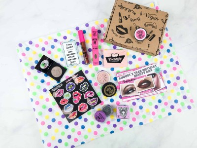 Medusa's MakeUp Beauty Box Subscription Box Review – August 2018