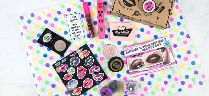 Medusa's MakeUp Beauty Box Subscription Box Review – August 2018
