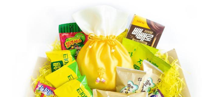Korean Snack Box September 2018 FULL Spoilers + Coupon!