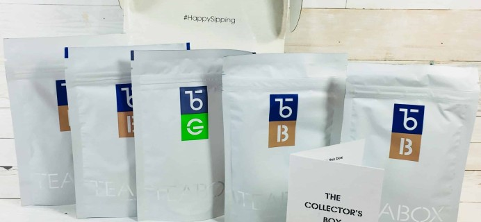 Teabox August 2018 Subscription Review & Coupon