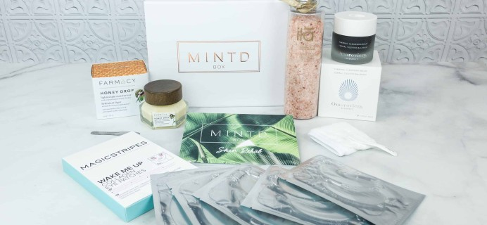 MINTD Box August 2018 Subscription Box Review + Coupon!