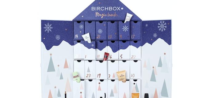 Birchbox UK 2018 Beauty Advent Calendar Coming Soon!