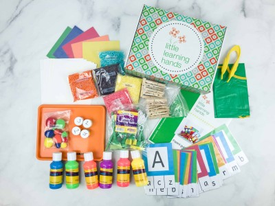 Little Learning Hands August 2018 Subscription Box Review
