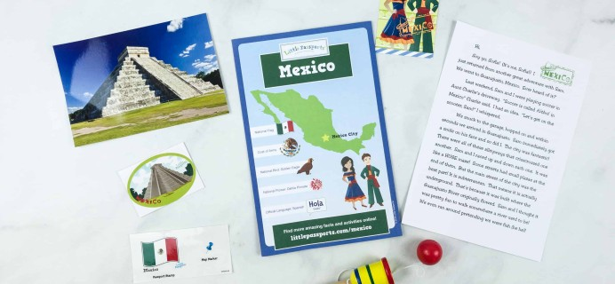 Little Passports World Edition Subscription Box Review + Coupon – MEXICO