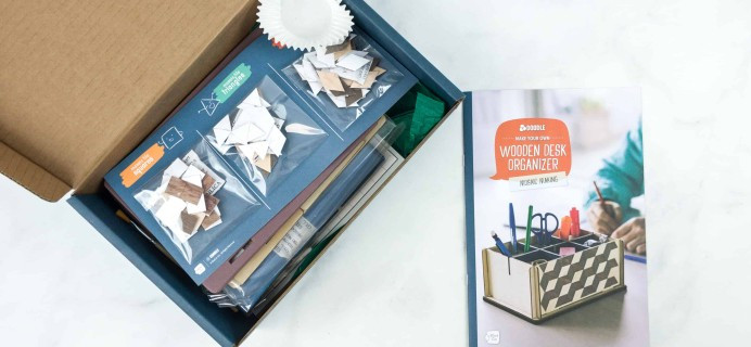 Doodle Crate July 2018 Subscription Box Review & Coupon – MOSAIC MAKING