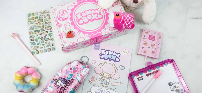 Kawaii Box August 2018 Subscription Box Review & Coupon