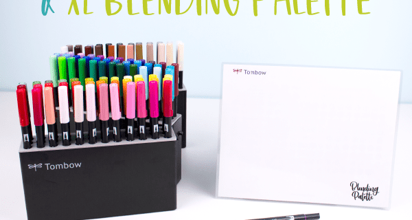 Tombow Marker Case & XL Blending Palette Are Now Available + 30% Off Coupon – TODAY ONLY!