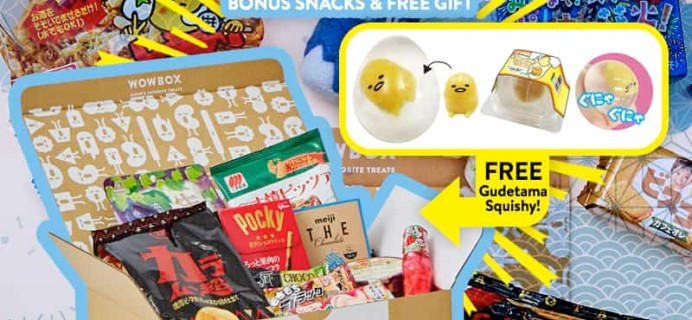 WowBox Summer Sale: Get Up To $99 Off + Free Gudetama Squishy!