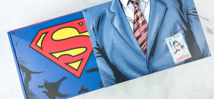 DC Comics World's Finest: The Collection Summer 2018 Box Review – SUPERMAN