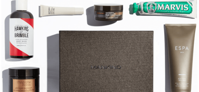 Mankind Limited Edition Grooming Box: Strength Edit Available Now!
