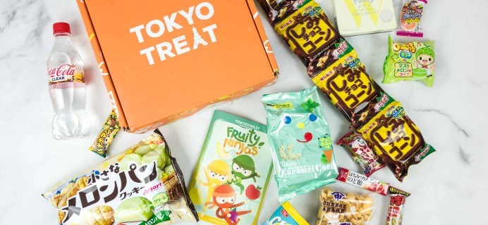 Tokyo Treat August 2018 Subscription Box Review + Coupon