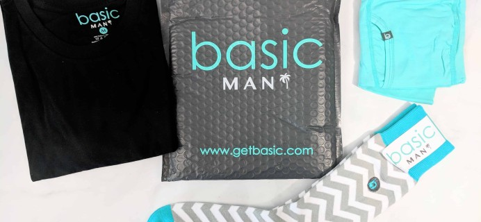 Basic MAN Subscription Box Review + Buy One Get One FREE Coupon – August 2018