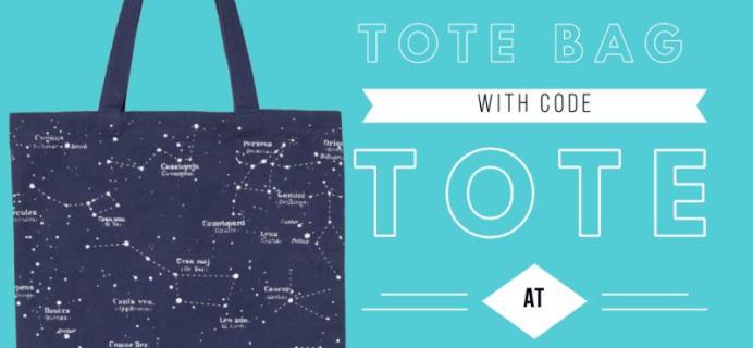 My Zodiac Box Promo: Get Free Constellation Tote Bag!