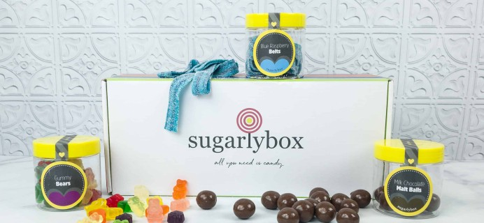 SugarlyBox August 2018 Subscription Box Review + Coupon