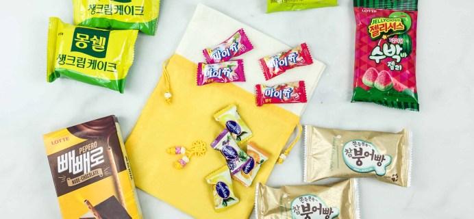 Korean Snack Box September 2018 Subscription Box Review + Coupon