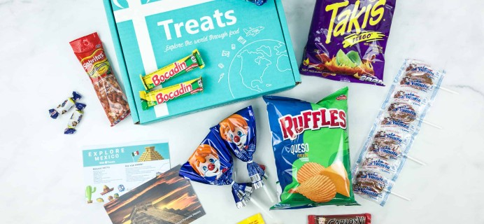 Treats Box August 2018 Review & Coupon