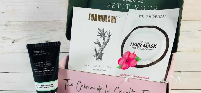 Petit Vour August 2018 Subscription Box Review