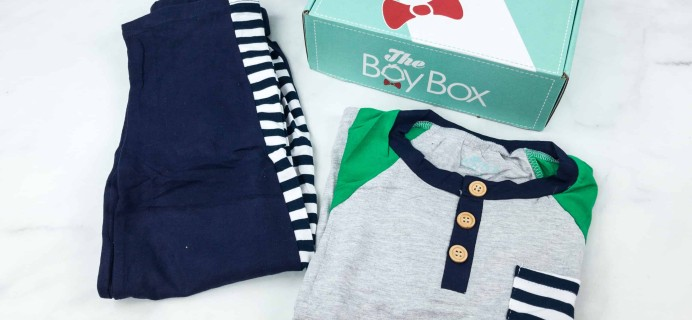 The Boy Box Clothing August 2018 Subscription Box Review + Coupon